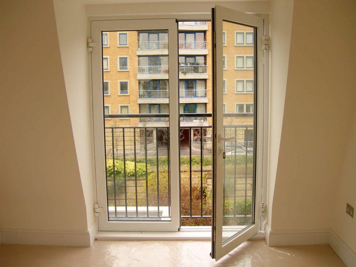 Как из окна сделать дверь на лоджию 662